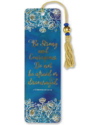image of Strong/Courageous Bookmark