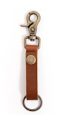 Image of Super Loop Keychain in Saddle Color