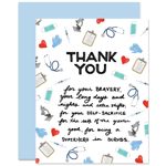 Image of Thank You Note for Medical Personnel