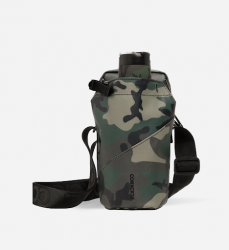 Image of Woodland Camo Sling with Canteen (canteen sold separately)
