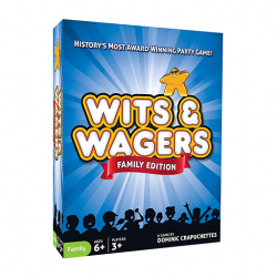 image of Wits & Wagers Family Edition game