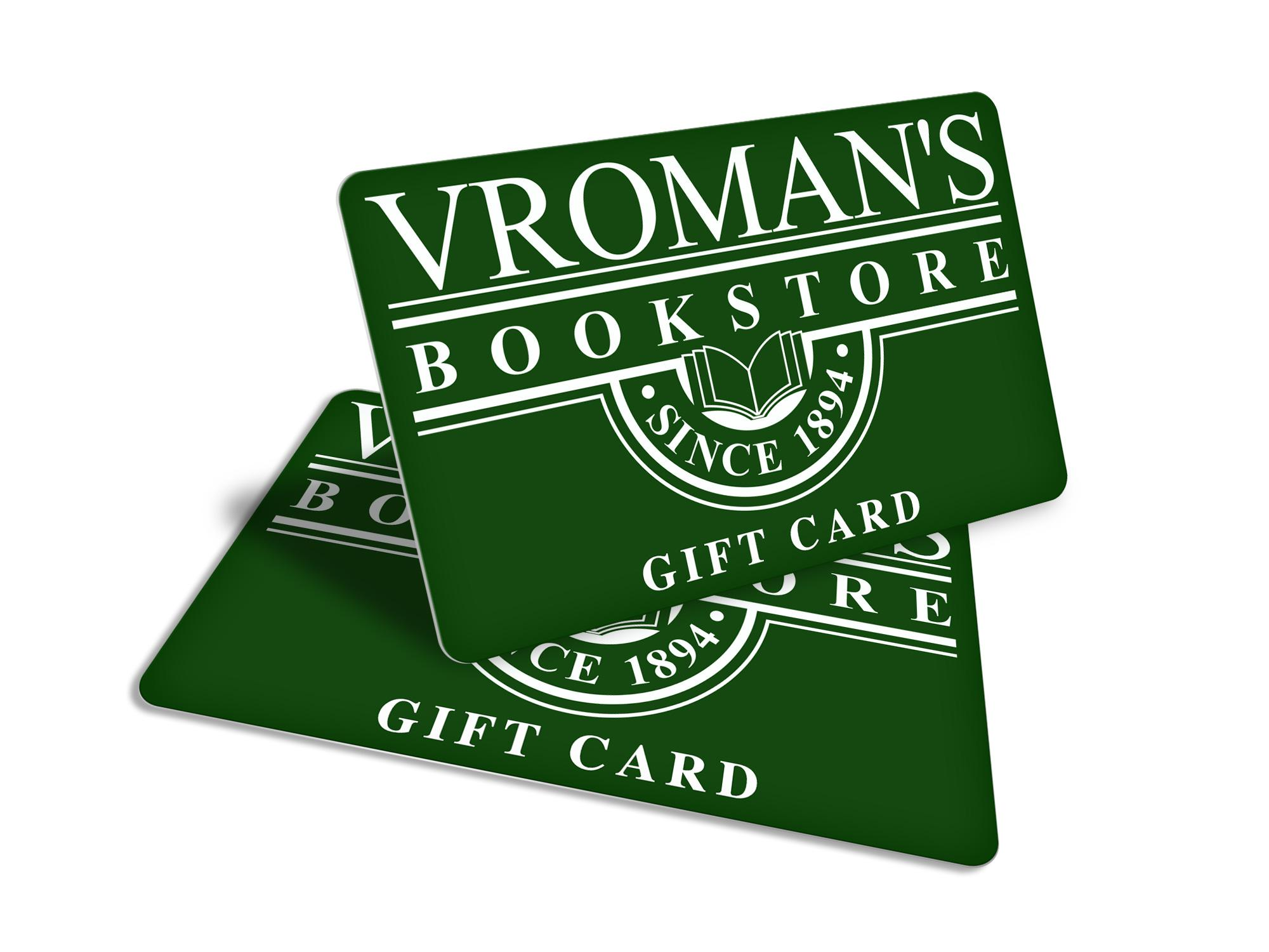 Vromans Gift Card Vromans Bookstore