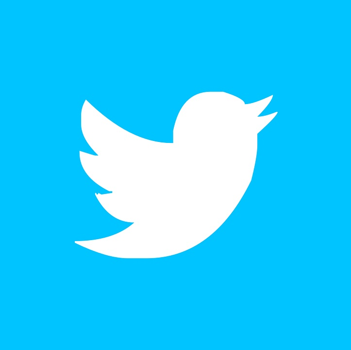 Twitter Logo (teal background with a white lowercase t)